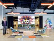 Contemporary Interiors Of AOL Office