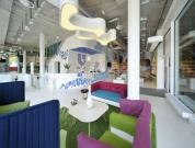 A Colorful Office Of Unilever!