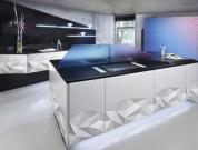 Luxurious Kitchen Design Inspired By Art Of Origami