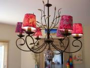 Hanging Beauties - Chandeliers In Colors