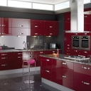 Pretty Modular Kitchen