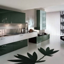 Stylish Luxurious Black White Kitchen Design
