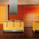 bright-sweet-orange-modular-kitchen-design