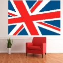 Nursery Walls   Union Jack Wall Mural   London   Themes