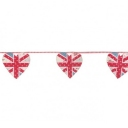 Nursery Walls   Union Jack Heart Floral Bunting